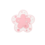 3 PCS Home Cherry Blossoms Silicone Table Mat Non-Slip Mat Insulation Mat, Specification: Powder Coaster
