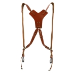 Leather Camera Strap Outdoor Photography Equipment Accessories Universal Single-Shot Camera Double Shoulder Strap