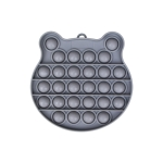 3 PCS Children Mathematical Logic Educational Toys Silicone Pressing Parent-Child Board Game, Style: Gray