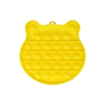 3 PCS Children Mathematical Logic Educational Toys Silicone Pressing Parent-Child Board Game, Style: Yellow