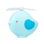 YS1901 2 PCS Little Bird USB Mini Portable Fan For Children And Students(Blue)