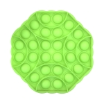 3 PCS Children Mathematical Logic Educational Toys Octagon Silicone Pressing Parent-Child Interactive Board Game(Green)