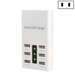 30W 2A Multi-Function 6-Port Charging Socket Universal Smart Phone And Tablet USB Charger(US Plug)