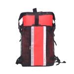 30L Outdoor Sports River Upstream Rafting Waterproof Bag Mountaineering Waterproof Backpack(Red)