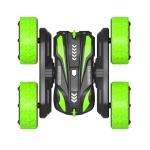 [US Warehouse] 2.4G Wireless Remote Control Car Toy Double Sided Double-sided Flip Stunt Car