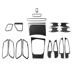 Car Carbon Fiber Full Set Decorative Sticker for BMW 3 Series G20/G28/325Li/330d/335 2019-2020, Left Drive