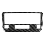 Car Carbon Fiber Solid Color CD Panel Decorative Sticker for Mercedes-Benz Traje Para GLK X204 300, 260, 350, 250, 220, 2013-2015, Left and Right Drive Universal