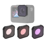 JSR KB Series Diving (Red Magenta Pink) Color Lens Filter for GoPro HERO9 Black