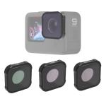 JSR KB Series CPL+ND8+ND16 Lens Filter for GoPro HERO9 Black