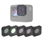 JSR KB Series MCUV+CPL+ND8+ND16+ND32 Lens Filter for GoPro HERO9 Black