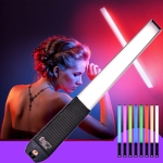 LUXCeO Q508A 8 Color Photo LED Stick Video Light Waterproof Handheld LED Fill Light Flash Lighting Lamp with Remote Control