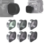 JSR KS 6 in 1 ND4+ND8+ND16+ND32+MCUV+CPL Lens Filter for DJI FPV, Aluminum Alloy Frame