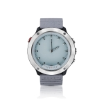 M5 Transparent LCD Digital Display Screen 50m Waterproof Smart Watch, Support Information Reminder / Sleep Monitoring / Heart Rate Monitoring(Silver Grey)