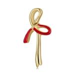 S925 Sterling Silver Bowknot Women Earrings