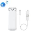 Remax Proda PD-BT600 Bluetooth 5.0 Multi-function Power Bank Wireless Bluetooth Earphone(White)