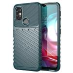 For Motorola Moto G30 Thunderbolt Shockproof TPU Protective Soft Case(Green)