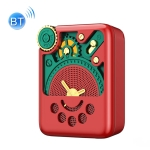 REMAX RB-M53 Mini AI Intelligent Bluetooth 5.0 Speaker(Red)