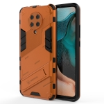 For Xiaomi Redmi K30 Pro Punk Armor 2 in 1 PC + TPU Shockproof Case with Invisible Holder (Orange)