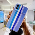 Rainbow Sliding Lens Cover Design Shockproof Protective Case For iPhone 12(D)