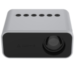 T500 1920x1080P 80 Lumens Portable Mini Home Theater LED HD Digital Projector With Remote Control & Adaptor(White)