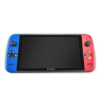 X25 Classic Games Handheld Game Console Linux OS with 7 inch Screen & 16G Memory, Support HDMI Output(Blue+Red)