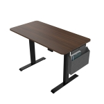 [US Warehouse] Adjustable Electric Standing Desk with Headphone Hook & Storage Bag, Size: 48x24x29-48 inch