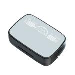 M9 Bluetooth 5.1 TWS Mirror Digital Display Wireless Bluetooth Earphone with Charging Box Flashlight , Support Touch & Siri & Battery Display(Black)