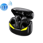 awei T35 Bluetooth V5.0 Ture Wireless Sports Game Dual Mode IPX5 Waterproof TWS Headset with Charging Case (Black)