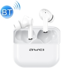 awei TA1 Bluetooth V5.0 Ture Wireless Sports ANC Noise Cancelling IPX4 Waterproof TWS Headset with Charging Case