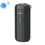 HOPESTAR P14 Pro Portable Outdoor Waterproof Wireless Bluetooth Speaker, Support Hands-free Call & U Disk & TF Card & 3.5mm AUX & FM (Black)