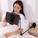 JOYROOM JR-ZS263 Funny Series 360-degree Rotating Clamp-type Desktop Lazy Holder for 4.7-12.9 inch Mobile Phones / Tablets