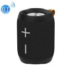 HOPESTAR P13 Portable Outdoor Waterproof Wireless Bluetooth Speaker, Support Hands-free Call & U Disk & TF Card & 3.5mm AUX & FM (Black)