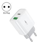 WK WP-U53 20W USB + Type-C Maxspeed PD Fast Charger(EU Plug)