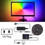 5m SMD 5050 RGB HDTV Background Lighting USB Ambilight LED Strip Kit, 30 LEDs/m, US Plug