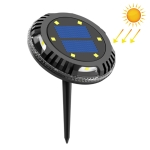 TG-JG00127 10 LEDs Solar Outdoor Waterproof Plastic Garden Decorative Ground Plug Light Intelligent Light Control Buried Light, White Light