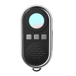 S200 Camera Detector with LED Flashlight (Black)