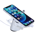 Aluminum Shell Cylindrical Display Stand Digital Magnetic Security System Burglar Alarm / Anti-theft Alarm Display Holder for iPhone & iPod & iPad with 8 Pin Port