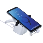 Aluminum Shell Square-column Anti-theft Alarm Stand Security System Burglar Alarm / Anti-theft Alarm Display Holder for Samsung / Huawei / Xiaomi / OPPO / vivo / LG with Type-C / USB-C Port