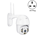 QX21 1080P HD WiFi IP Camera, Support Night Vision & Motion Detection & Two Way Audio & TF Card, UK Plug