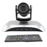 YSNS YS-H10UH USB HD 1080P Wide-Angle Video Conference Camera with Remote Control (Silver)
