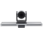YANS YS-H210UT USB HD 1080P 10X Zoom Video Conference Camera for Large Screen, Support IR Remote Control (Grey)