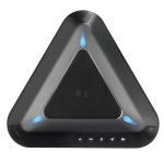 YANS YS-M11 USB Mini Port Video Conference Omnidirectional Microphone(Black)