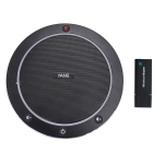 YANS YS-M61W Video Conference Wireless Omnidirectional Microphone (Black)