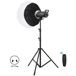 PULUZ 150W 5600K Studio Video Light + 2.8m Light Holder + 65cm Foldable Lantern Softbox Photography Kit(AU Plug)