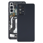 Battery Back Cover with Camera Lens Cover for Samsung Galaxy A52 5G(Black)