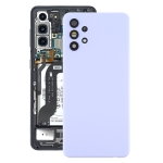 Battery Back Cover with Camera Lens Cover for Samsung Galaxy A32 5G(Purple)