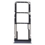 SIM Card Tray + SIM Card Tray + Micro SD Card Tray for Xiaomi Redmi Note 9 5G (Black)