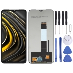 LCD Screen and Digitizer Full Assembly for Xiaomi Redmi Note 9 4G/Poco M3 M2010J19SC M2010J19CG