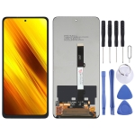 LCD Screen and Digitizer Full Assembly for Xiaomi Poco X3/Redmi Note 9 Pro 5G/Mi 10T Lite 5G M2010J19SC M2010J19CG M2007J17G