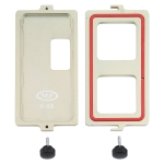 Screw Fixed LCD Screen Frame Bezel Pressure Holding Mold Clamp Mold For iPhone X-XS